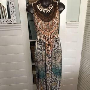 Live and let Live One World xlg/1x maxi dress